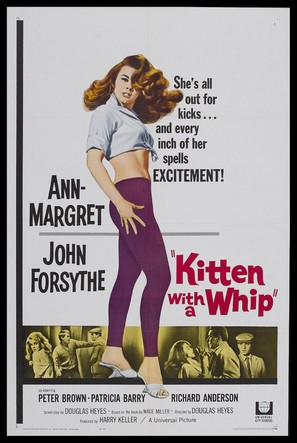 Kitten with a Whip - Movie Poster (thumbnail)