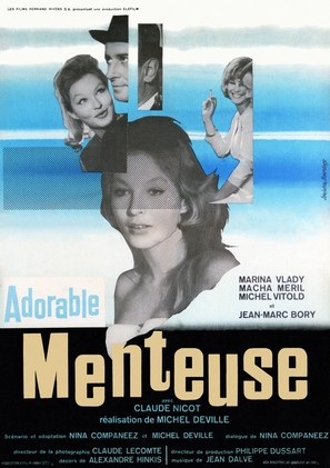 Adorable menteuse - French Movie Poster (thumbnail)