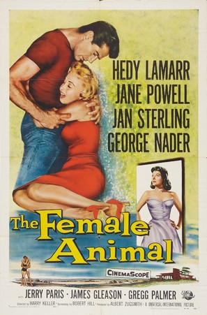 The Female Animal - Movie Poster (thumbnail)