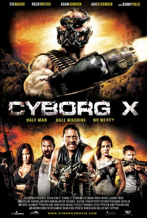 cyborg x 2016 movie posters