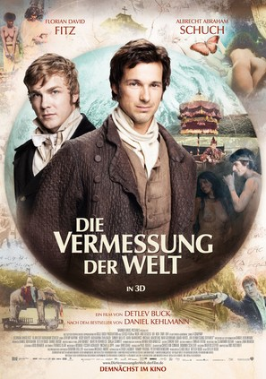 Die Vermessung der Welt - German Movie Poster (thumbnail)