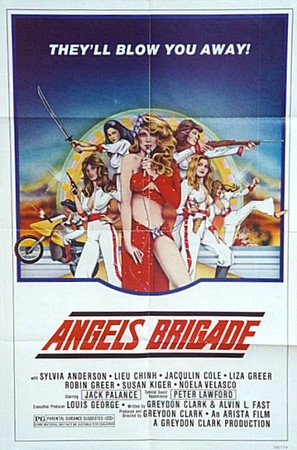 Angels' Brigade - Movie Poster (thumbnail)