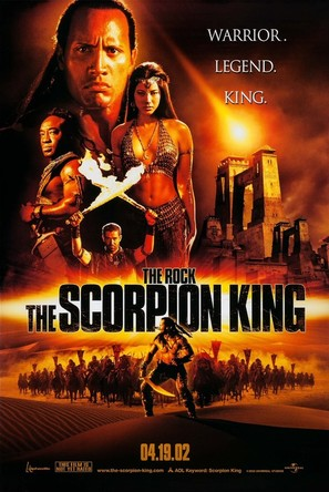 The Scorpion King - Advance movie poster (thumbnail)