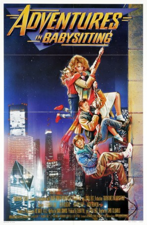 Adventures in Babysitting - Movie Poster (thumbnail)