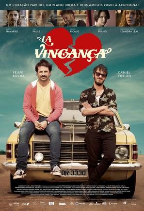 La Vingança - Brazilian Movie Poster (thumbnail)
