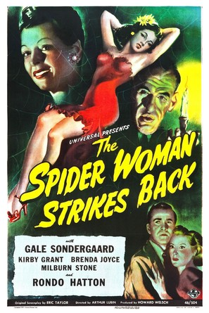 The Spider Woman Strikes Back - Movie Poster (thumbnail)