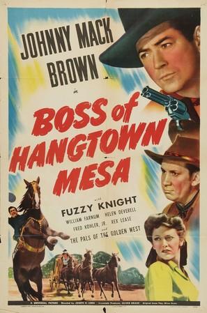 Boss of Hangtown Mesa