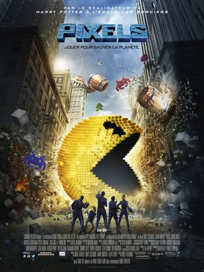 Pixels - French Movie Poster (thumbnail)