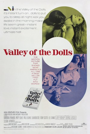 Valley of the Dolls - Movie Poster (thumbnail)