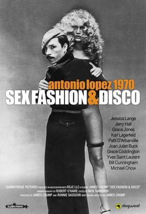Antonio Lopez 1970: Sex Fashion & Disco - Movie Poster (thumbnail)