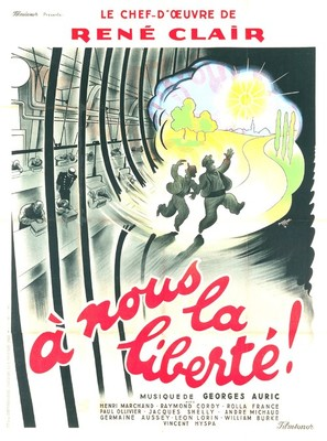 À nous la liberté - French Movie Poster (thumbnail)