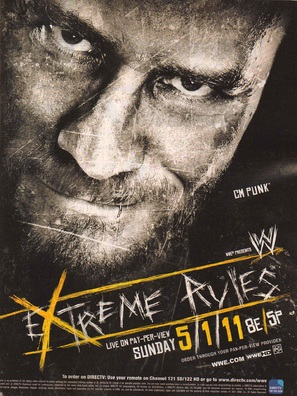 WWE Extreme Rules - Movie Poster (thumbnail)
