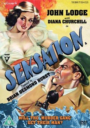 Sensation - British DVD movie cover (thumbnail)