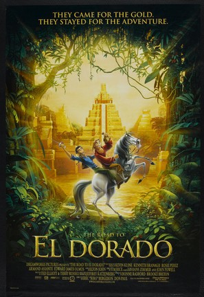 The Road to El Dorado - Movie Poster (thumbnail)