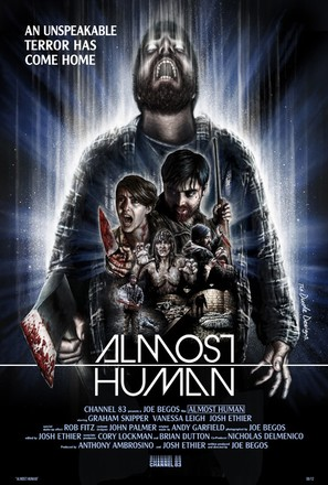 Almost Human - Movie Poster (thumbnail)