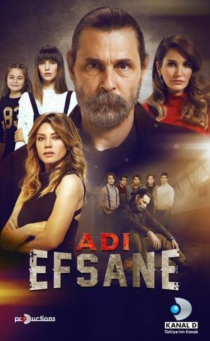 """Adi Efsane"" - Turkish Movie Poster (thumbnail)"