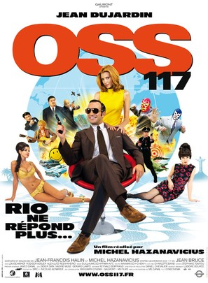 OSS 117: Rio ne repond plus - French Movie Poster (thumbnail)