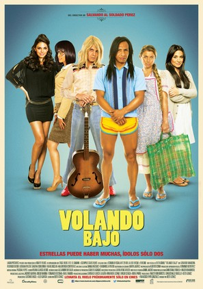 Volando Bajo - Mexican Movie Poster (thumbnail)