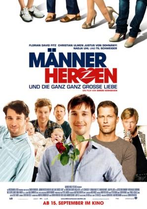 Männerherzen... und die ganz ganz große Liebe - German Movie Poster (thumbnail)