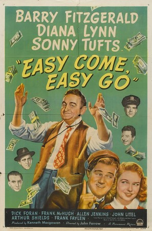 Easy Come, Easy Go - Movie Poster (thumbnail)