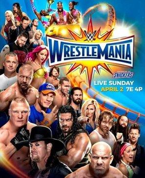 WrestleMania 33 - Movie Poster (thumbnail)