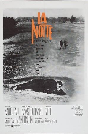 La notte - Movie Poster (thumbnail)