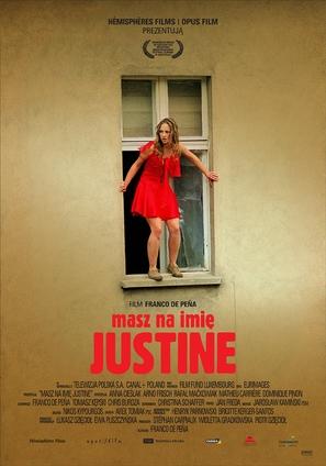 Masz na imie Justine - Polish Movie Poster (thumbnail)