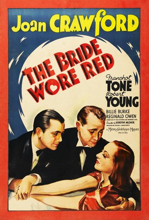 The Bride Wore Red - Movie Poster (thumbnail)