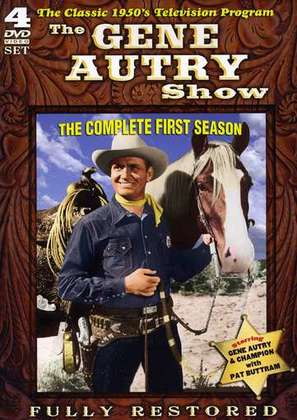 """The Gene Autry Show"" - DVD cover (thumbnail)"