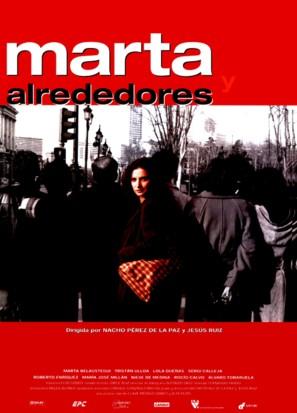 Marta y alrededores - Spanish Movie Poster (thumbnail)