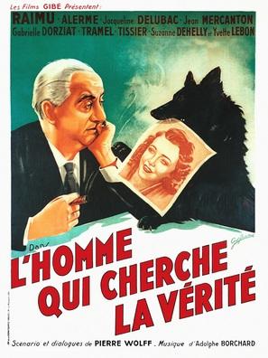 L'homme qui cherche la vérité - French Movie Poster (thumbnail)