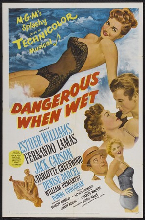 Dangerous When Wet - Movie Poster (thumbnail)