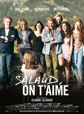 Salaud on t'aime - French Movie Poster (thumbnail)