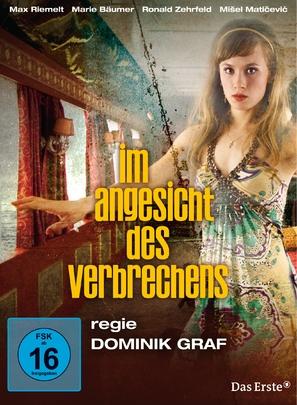 """Im Angesicht des Verbrechens"" - German DVD movie cover (thumbnail)"