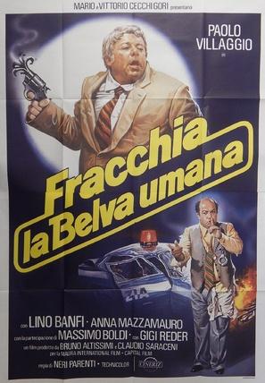 Fracchia la belva umana - Italian Movie Poster (thumbnail)
