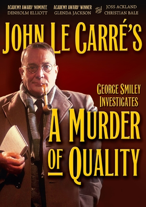 A Murder of Quality - DVD cover (thumbnail)