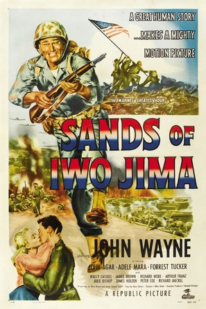 Sands of Iwo Jima - Movie Poster (thumbnail)