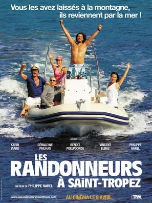 Les randonneurs à Saint-Tropez - French poster (thumbnail)