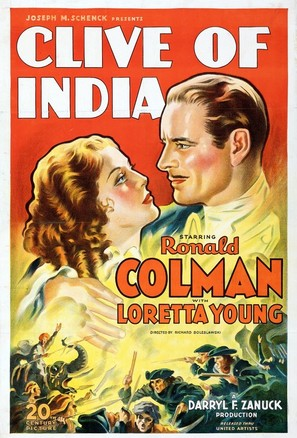 Clive of India - Movie Poster (thumbnail)
