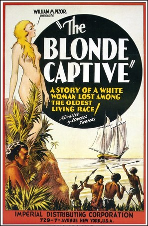 The Blonde Captive - Movie Poster (thumbnail)