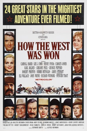 How the West Was Won - Movie Poster (thumbnail)