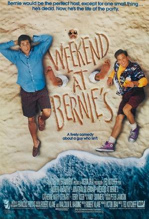 Weekend at Bernie's - Movie Poster (thumbnail)
