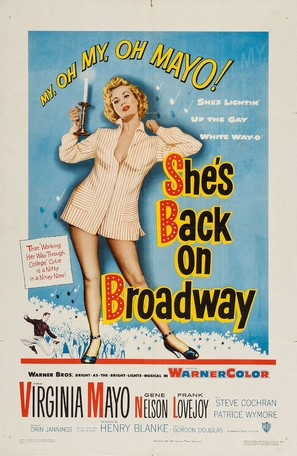 She's Back on Broadway - Movie Poster (thumbnail)