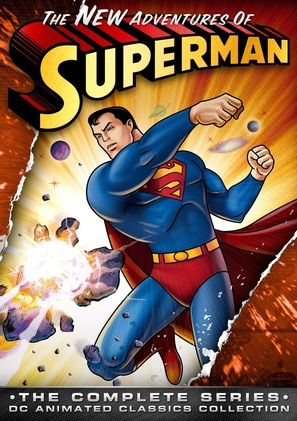 """The New Adventures of Superman"" - DVD cover (thumbnail)"