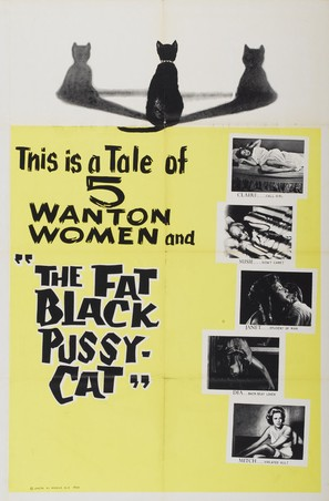 The Fat Black Pussycat - Movie Poster (thumbnail)