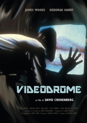 Videodrome - French Re-release movie poster (thumbnail)