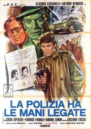 La polizia ha le mani legate - Italian Movie Poster (thumbnail)