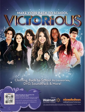 """Victorious"" - Movie Poster (thumbnail)"