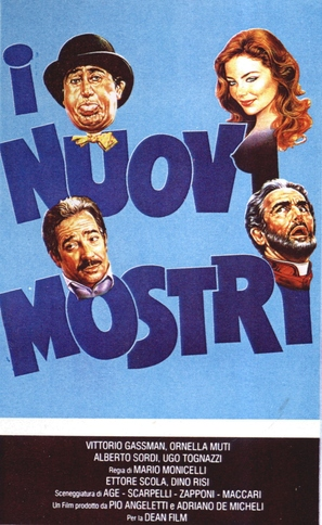 I nuovi mostri - Italian Movie Poster (thumbnail)