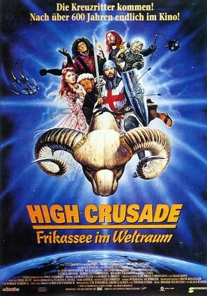The High Crusade - German Movie Poster (thumbnail)